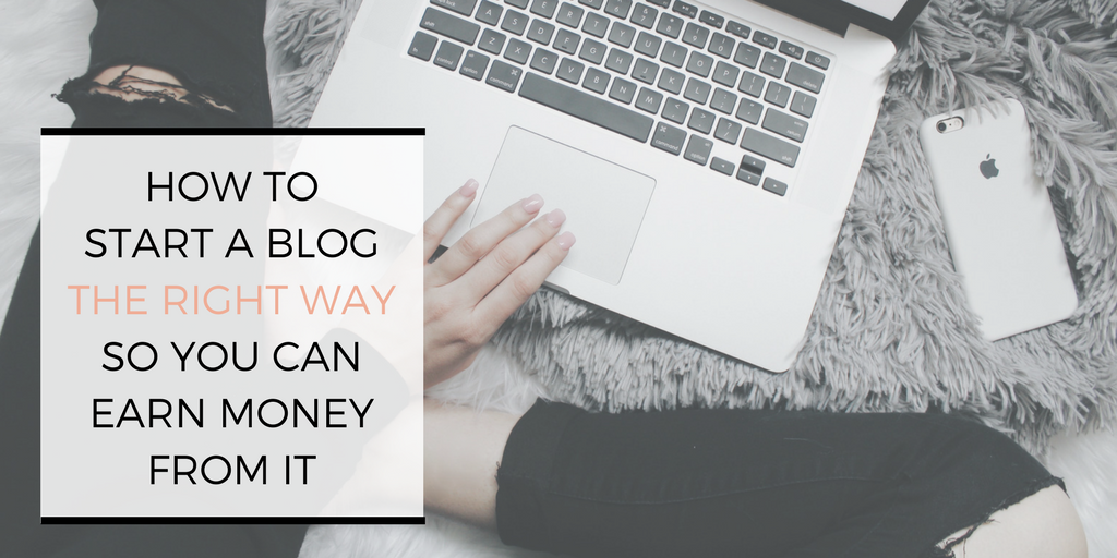 How to start a blog the right way so you can earn money from it | monetize | blogging | tips | make money blogging | | www.beautyisgf123.com