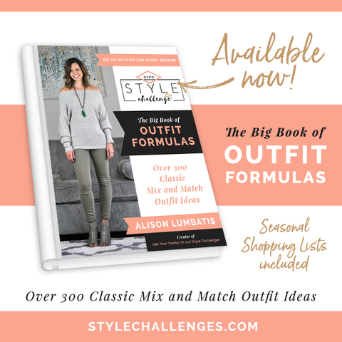Big-Book-Capsule Wardrobe outfit formulas book