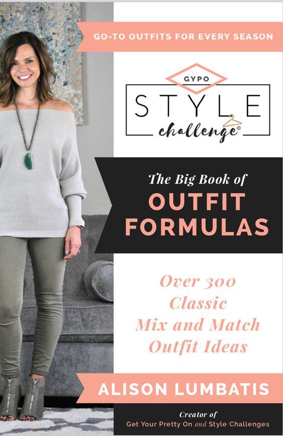 capsule wardrobe book outfit formulas